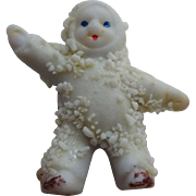 Snow Baby Doll Antique German Bisque Miniature Cake Topper