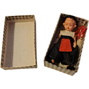 Celluloid Miniature Dollhouse Doll Ethnic New In Box