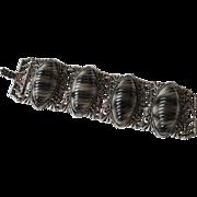 Chunky Thermoset Lucite Vintage Bracelet Vintage 1960s Link Large