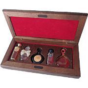 Miniature Perfume Set Vintage 1980s Byzance Caleche Givenchy Cabochard Van Cleef Arpels