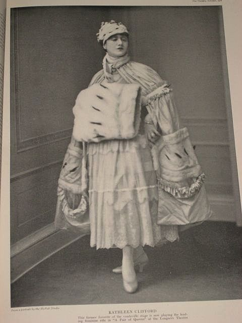 1916 The Theatre Magazine with Miss Irene Fenwick on Cover & Rauch & Lang Electrics on Back-Gorgeous