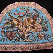 Superb Antique Victorian Beadwork Tea Cozy Cosy, Double Sided