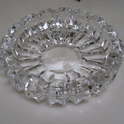 Vintage Cut Crystal Candy Dish or Ashtray