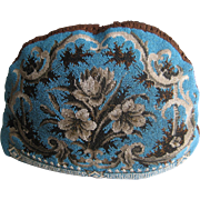 Antique All Beadwork Tea Cozy w/Grapes, Flowers, Scrollwork- Double Sided
