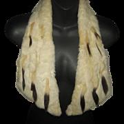 Antique Ermine Fur Collar Worn Two Ways