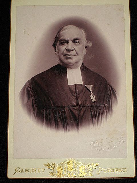 Antique German (?) Cabinet Card-Possibly a Judge