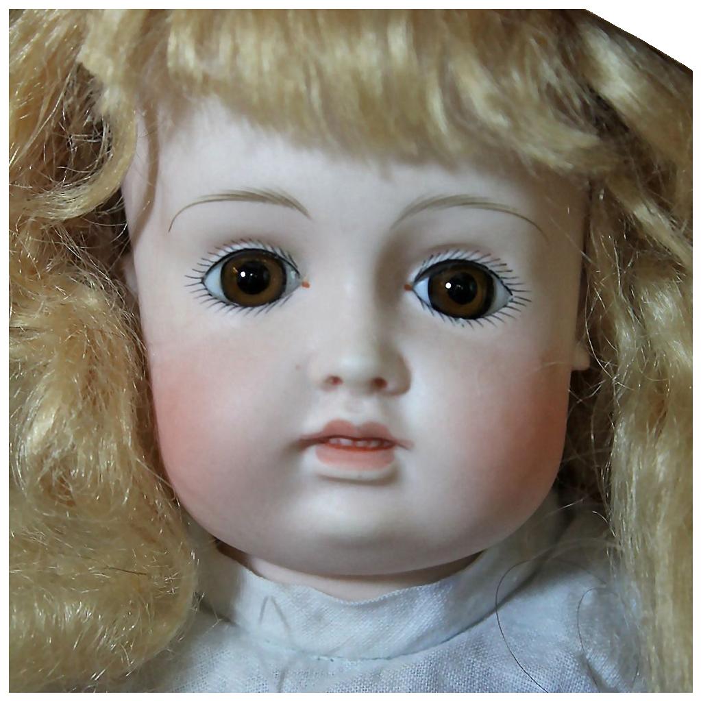 "Wonderful 15"" Kestner Bru Character Child"