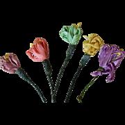 Vintage Ribbon Flowers