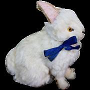 Rare German Antique Fur Covered Bunny