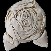 Antique Silk Taffeta Rose