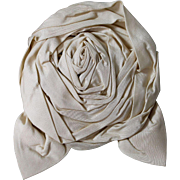 Antique Silk Taffeta Rose