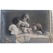 Antique Postcard of Kaiser Baby