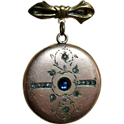 Antique Locket for Doll