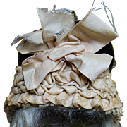 Fabulous French Antique Doll Hat