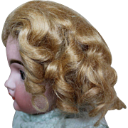 Vintage Strawberry Blond Mohair Wig