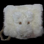 Darling Vintage Fur Muff for Doll