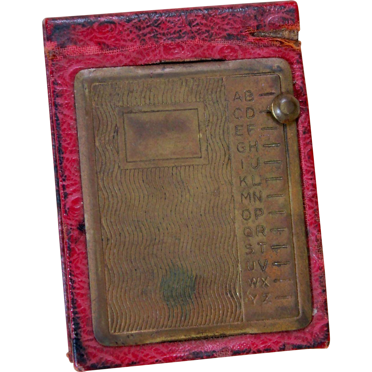 Miniature Antique Address Book
