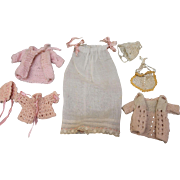 Darling Lot of Tiny Byelo Baby Clothes