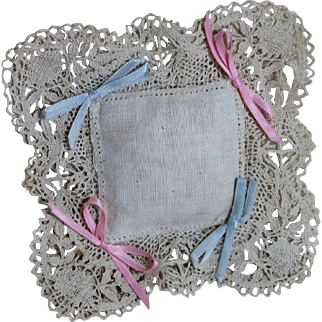 Sweet Pillow for Small Doll Bed