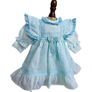 Darling Cotton and Silk Dress for Smaller Doll