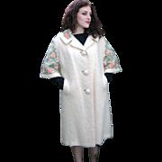 Fantastic Vintage 1950's Mohair Coat by Bataldi