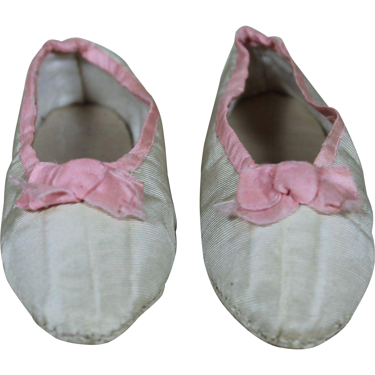 Beautiful Antique Doll Slippers