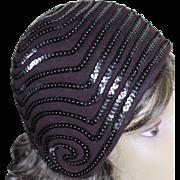 Fabulous Vintage 1930's Cloche Hat