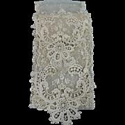 Gorgeous Antique Lace Scarf