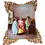 Darling Ullman Reverse Photograph with Doll