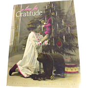 Theriault Auction Catalog, A Time for Gratitude