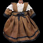 Darling Silk Dress for Small Doll