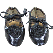Antique French Doll Shoes
