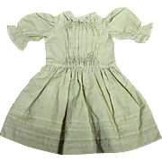 Darling Cotton Dress for Antique Doll