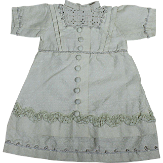 Pretty Factory Made Dress for Antique Doll