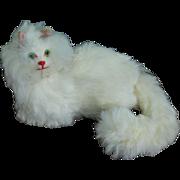 Rare Antique Miniature Fur Cat