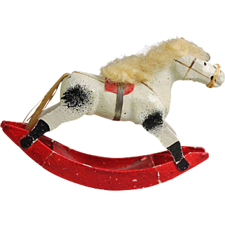 Small Vintage Rocking Horse