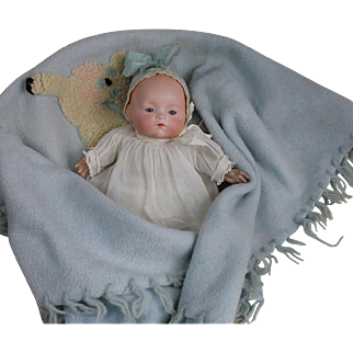 """Adorable 12"""" Arranbee Dream Baby with Blanket"""