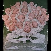 c1905 Cupid Roses Ladies Home Journal Magazine Cherub Corset Valentine Black Americana Negro