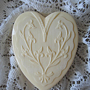 Coro Heart Jewelry Box Celluloid