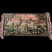 Deer Tapestry or Rug Very Old
