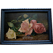 Antique Roses Print Patty Thum