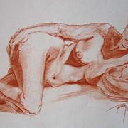 Reclining Nude Original Art