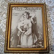 c1920 Lady Dove Sheet Music Print Hans Zatzka E T Paull