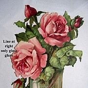 Sale 30% Off Roses Die Cut Valentine Print