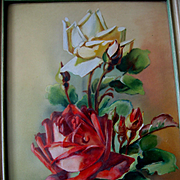 Sale 40% Off Catherine Klein Roses Painting