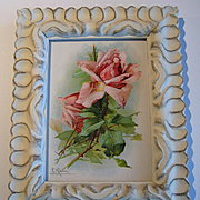c1890s Catherine Klein Antique Roses Print