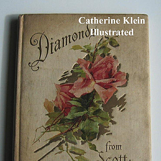 c1910 Catherine Klein Illustrated Book Diamond From Scott Antique Print s