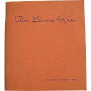 These Blooming Gypsies Wild Flower Gossip Gift Book Booklet Language of Flowers c1938