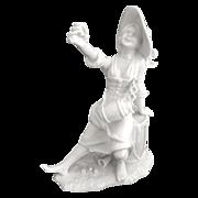 Vintage Alboth & Kaiser porcelain figurine Toasting Bier Frau