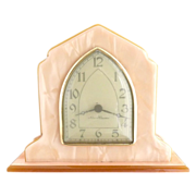 Vintage desk clock New Haven windup c. 1920s